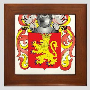 Humphrey Coat of Arms (Family Crest) Framed Tile