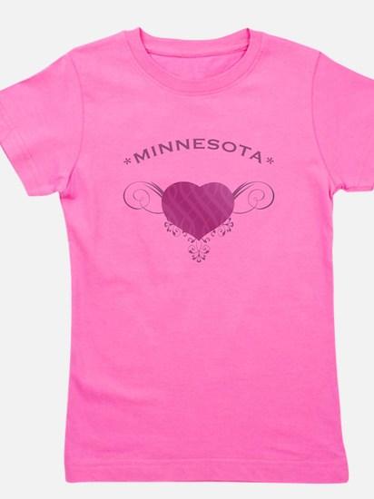 Minnesota State (Heart) Gifts Girl's Tee
