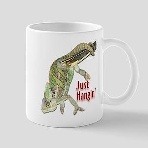 Chameleon Just Hangin Mug