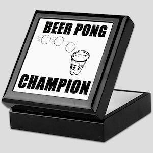 Beer Pong Champion Keepsake Box
