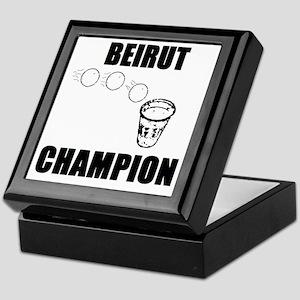 Beirut Champion Keepsake Box
