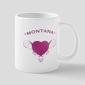 Montana State (Heart) Gifts Mug