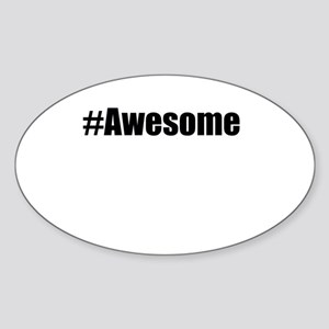 #Awesome Sticker
