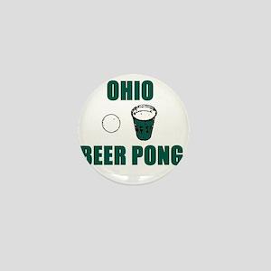 Ohio Beer Pong Mini Button