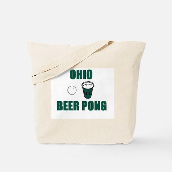 Ohio Beer Pong Tote Bag