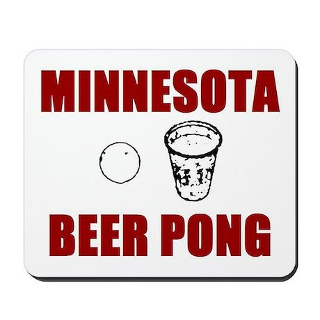 Minnesota Beer Pong Mousepad