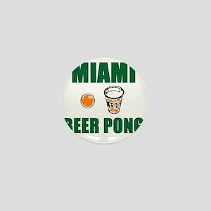 Miami Beer Pong Mini Button