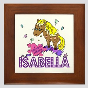 Personalized Isabella Name Wall Art Cafepress