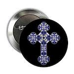 Bluebonnet Cross Button