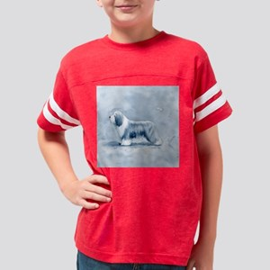 BlueBeardieWCStandSquare Youth Football Shirt