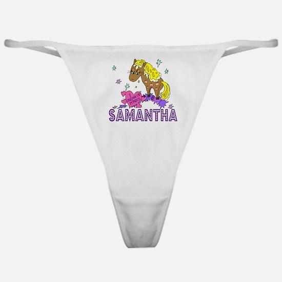 I Dream Of Ponies Samantha Classic Thong