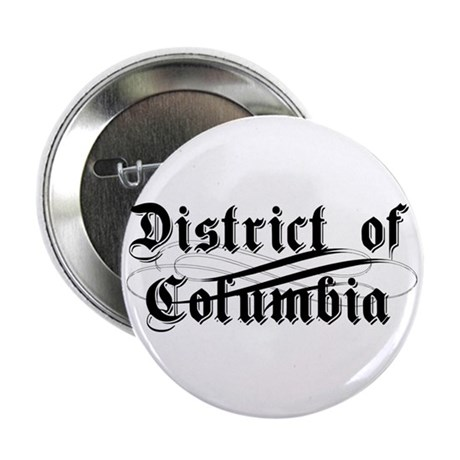 """District of Columbia 2.25"""" Button (100 pack)"""