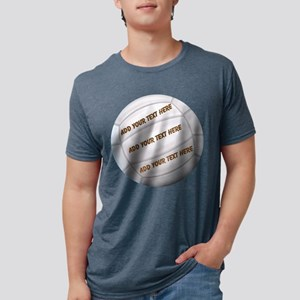 Beach Volleyball Mens Tri-blend T-Shirt