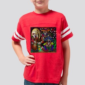 Day of the Dead Music art by  Youth Football Shirt