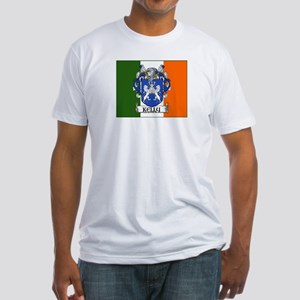 Kelly Arms Irish Flag Fitted T-Shirt