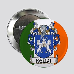 "Kelly Arms Irish Flag 2.25"" Button (10 pack)"