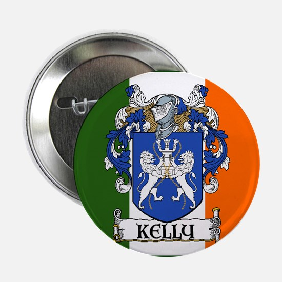 """Kelly Arms Irish Flag 2.25"""" Button (10 pack)"""