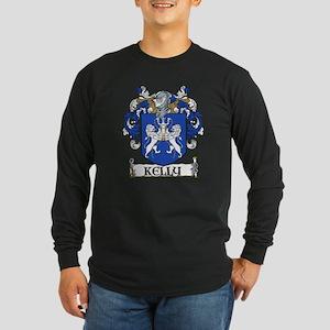 Kelly Coat of Arms Long Sleeve Dark T-Shirt