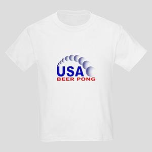 USA Beer Pong Kids T-Shirt