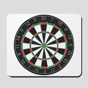Competition Dart Board Mousepad