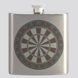 Competition Dart Board Flask