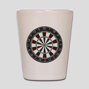 Competition Dart Board Shot Glass