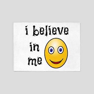 I Believe in Me 5'x7'Area Rug
