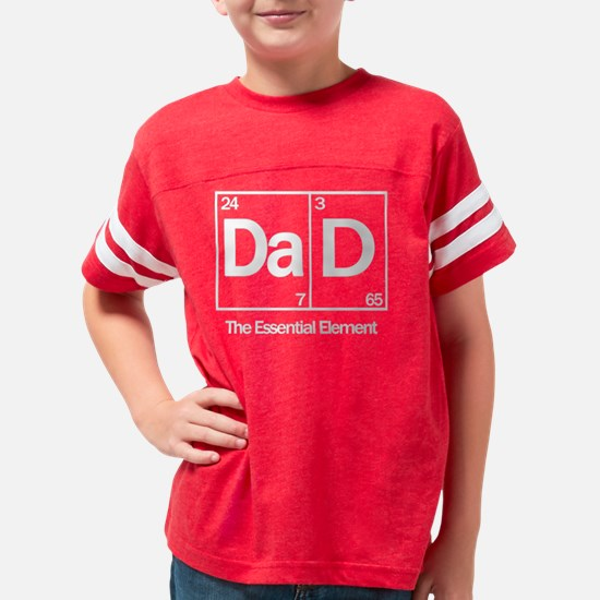 Dad: The Essential Element Youth Football Shirt