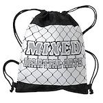 Mixed Martial Arts Drawstring Bag