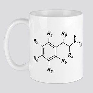 Phenethylamine Structure Mug