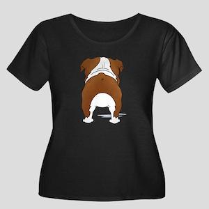 RedBulldogShirtBack Plus Size T-Shirt
