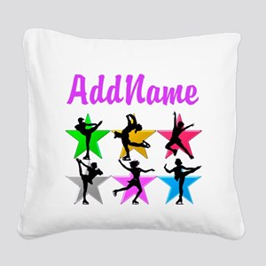 AWESOME SKATER Square Canvas Pillow
