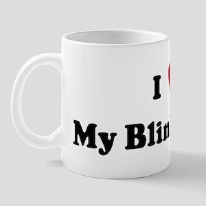 I Love My Blinky Bear Mug