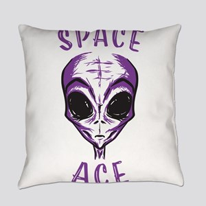Space Ace Alien Everyday Pillow