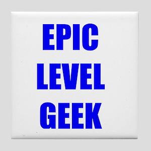 Epic Level Geek Tile Coaster