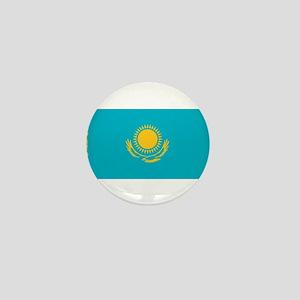 kazakhstan flag - barot's hom Mini Button
