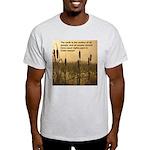 Chief Joseph Earth Quote Ash Grey T-Shirt