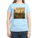 Chief Joseph Earth Quote Women's Pink T-Shirt