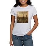 Chief Joseph Earth Quote Women's T-Shirt