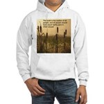 Chief Joseph Earth Quote Hooded Sweatshirt