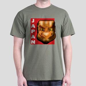 Japanese Mask Dark T-Shirt