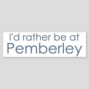 Pemberley Bumper Sticker
