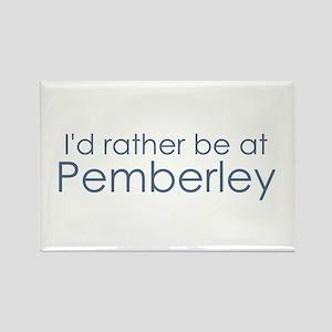 Pemberley Rectangle Magnet