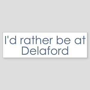 Delaford Bumper Sticker