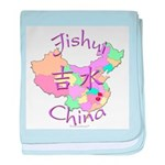 Jishui China Map baby blanket