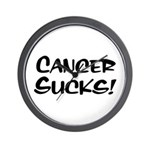 Cancer Sucks! Wall Clock