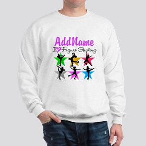 ICE SKATING STAR Sweatshirt