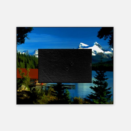 Alpine Lake Picture Frame