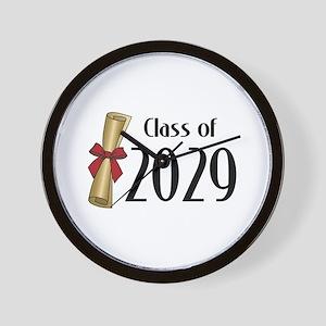 Class of 2029 Diploma Wall Clock