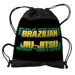 Brazilian Jiu Jitsu Drawstring Bag